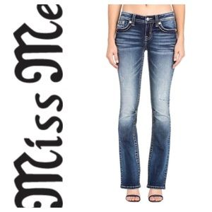 4917626e48a Miss Me Jeans | Patriotic Star Pocket Slim Boot Cut Jean | Poshmark